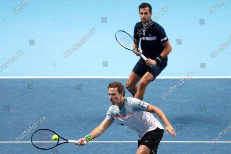 Editorial image of Tennis ATP Finals, London, United Kingdom - 20 Nov 2020