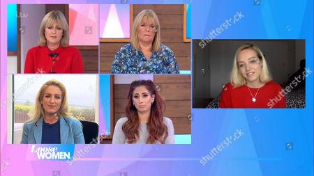 Jane Moore, Linda Robson, Paris Fury, Stacey Solomon and Kelsey Hardwick