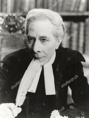 Stock Image of George Arliss