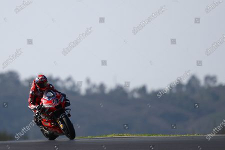 ALGARVE INTERNATIONAL CIRCUIT, PORTUGAL - NOVEMBER 20: Danilo Petrucci, Ducati Team during the Portuguese GP at Algarve International Circuit on November 20, 2020 in Algarve International Circuit, Portugal. (Photo by Gold and Goose / LAT Images)