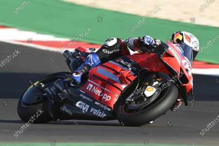 ALGARVE INTERNATIONAL CIRCUIT, PORTUGAL - NOVEMBER 20: Andrea Dovizioso, Ducati Team during the Portuguese GP at Algarve International Circuit on November 20, 2020 in Algarve International Circuit, Portugal. (Photo by Gold and Goose / LAT Images)
