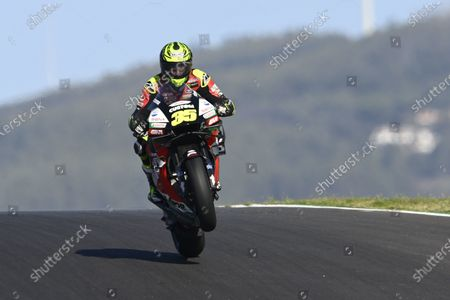 ALGARVE INTERNATIONAL CIRCUIT, PORTUGAL - NOVEMBER 20: Cal Crutchlow, Team LCR Honda during the Portuguese GP at Algarve International Circuit on November 20, 2020 in Algarve International Circuit, Portugal. (Photo by Gold and Goose / LAT Images)