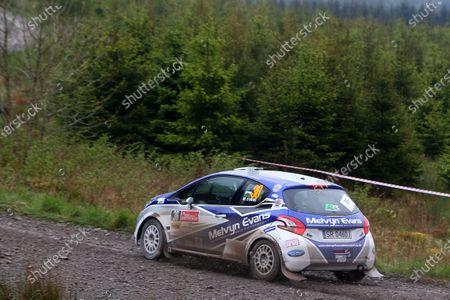 2017 Prestone MSA British Rally Championship,  Scottish Rally, Dumfries. 19th - 20th May 2017. Meirion Evans / Jonathan Jackson Peugeot 208 R2. World Copyright: JEP / LAT Images.