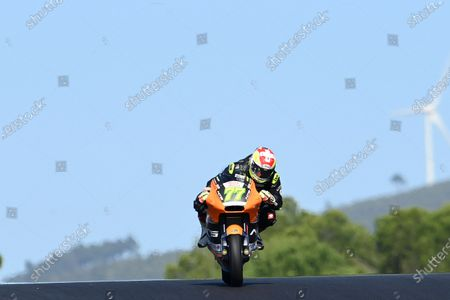ALGARVE INTERNATIONAL CIRCUIT, PORTUGAL - NOVEMBER 20: Dominique Aegerter, RW Racing GP during the Algarve at Algarve International Circuit on November 20, 2020 in Algarve International Circuit, Portugal. (Photo by Gold and Goose / LAT Images)