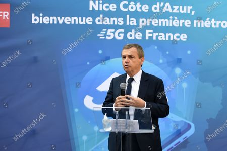 Editorial photo of First French city open in 5G, Nice, France - 20 Nov 2020