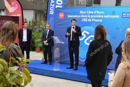 Christian Estrosi, Alain Weill, Gregory Rabuel