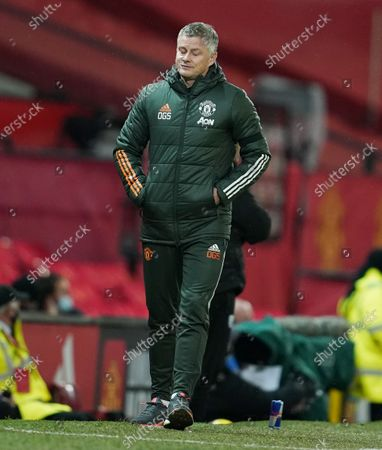 Stock Picture of Manchester United manager Ole Gunnar Solskjaer