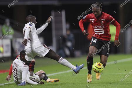 Editorial photo of Soccer League One, Rennes, France - 20 Nov 2020