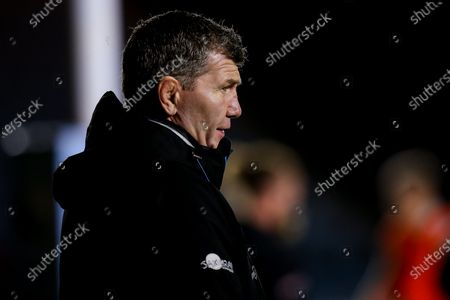 Stock Photo of Exeter Chiefs director of rugby Rob Baxter