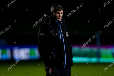 Stock Picture of Exeter Chiefs director of rugby Rob Baxter