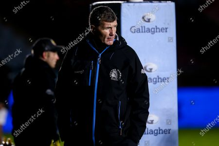 Exeter Chiefs director of rugby Rob Baxter