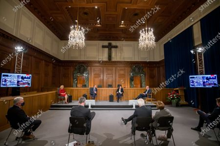 Editorial picture of 75th anniversary of the Nuremberg trials, Deutschland - 20 Nov 2020