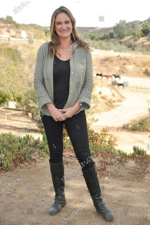 "Stock Image of Director Ashley Avis attends an event to promote the film ""Black Beauty"" at Fair Hill Farms, in Topanga, Calif"