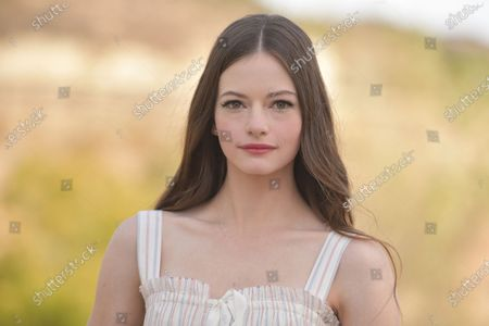 """Stock Image of Mackenzie Foy attends an event to promote the film """"Black Beauty"""" at Fair Hill Farms, in Topanga, Calif"""