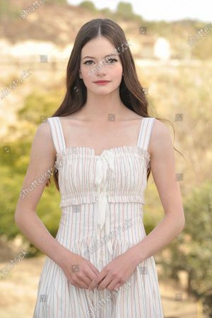 """Stock Picture of Mackenzie Foy attends an event to promote the film """"Black Beauty"""" at Fair Hill Farms, in Topanga, Calif"""