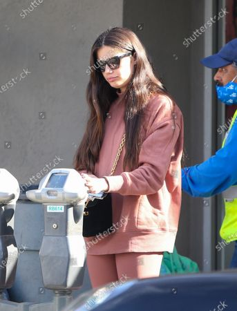 Editorial image of Sara Sampaio out and about, Los Angeles, USA - 20 Nov 2020