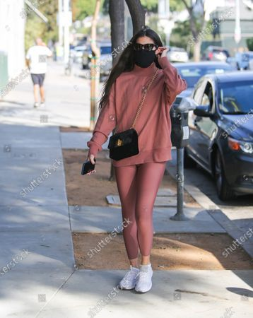 Editorial picture of Sara Sampaio out and about, Los Angeles, USA - 20 Nov 2020