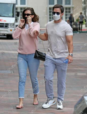 Mark Wahlberg and Rhea Durham shopping at Chanel in Beverly Hills