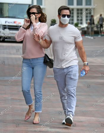 Editorial picture of Mark Wahlberg out and about, Los Angeles, USA - 20 Nov 2020