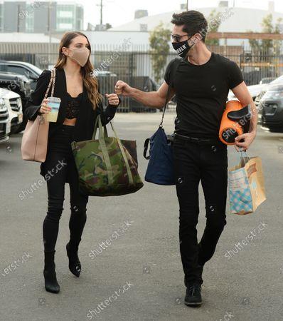 Stock Image of Jenna Johnson and Nev Schulman