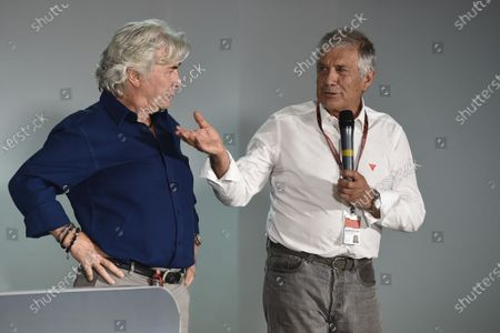 2017 MotoGP Championsip - Round 4 Jerez, Spain Thursday 4 May 2017 Giacomo Agostini, Angel Nieto World Copyright: Gold & Goose Photography/LAT Images