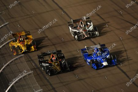 Verizon IndyCar Series Desert Diamond West Valley Phoenix Grand Prix Phoenix Raceway, Avondale, AZ USA Saturday 29 April 2017 Tony Kanaan, Chip Ganassi Racing Teams Honda, James Hinchcliffe, Schmidt Peterson Motorsports Honda World Copyright: Scott R LePage LAT Images