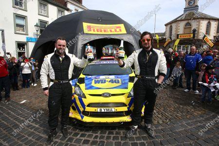 2017 Prestone MSA British Rally Championship,  Pirelli International Rally, Carlisle. 29th - 30th April 2017. Stephen Petch / Michael Wilkinson Ford Fiesta WRC. World Copyright: JEP / LAT Images.