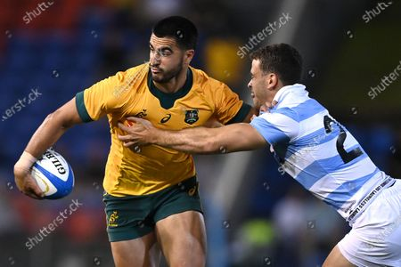 Editorial picture of Tri Nations rugby match between the Argentina Pumas and Australian Wallabies, Newcastle, Australia - 21 Nov 2020