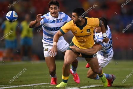Editorial image of Tri Nations rugby match between the Argentina Pumas and Australian Wallabies, Newcastle, Australia - 21 Nov 2020