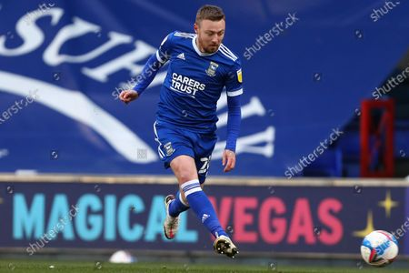 Freddie Sears of Ipswich Town - Ipswich Town v Shrewsbury Town, Sky Bet League One, Portman Road, Ipswich, UK - 21st November 2020Editorial Use Only - DataCo restrictions apply