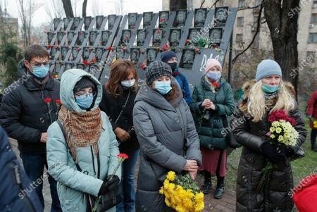 Editorial image of Ukrainians mark the anniversary of the Euromaidan Revolution in Kiev, Ukraine - 21 Nov 2020