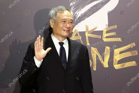Stock Image of Taiwanese director Ang Lee arrives at the 57th Golden Horse Awards in Taipei, Taiwan, . Lee is a guest at this year's Golden Horse Awards -one of the Chinese-language film industry's biggest annual events