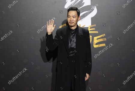"""Stock Photo of Taiwanese actor Michael Chang arrives at the 57th Golden Horse Awards in Taipei, Taiwan, . Chang is nominated for Best Supporting Actor for the film """"A Leg"""" at this year's Golden Horse Awards, one of the Chinese-language film industry's biggest annual events"""