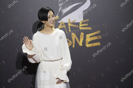 """Stock Photo of Taiwanese actress Gwei Lun-mei arrives at the 57th Golden Horse Awards in Taipei, Taiwan, . Gwei is nominated for Best Leading Actress for the film """"A Leg"""" at this year's Golden Horse Awards"""