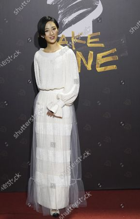 """Taiwanese actress Gwei Lun-mei arrives at the 57th Golden Horse Awards in Taipei, Taiwan, . Gwei is nominated for Best Leading Actress for the film """"A Leg"""" at this year's Golden Horse Awards"""