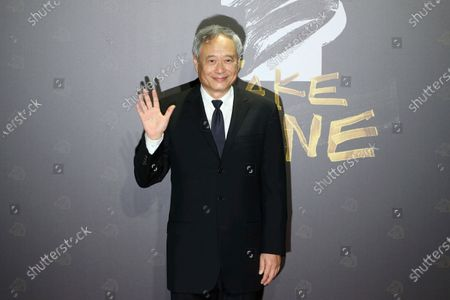 Stock Photo of Taiwanese director Ang Lee arrives at the 57th Golden Horse Awards in Taipei, Taiwan, . Lee is a guest at this year's Golden Horse Awards -one of the Chinese-language film industry's biggest annual events