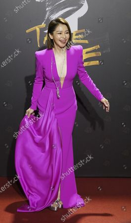 Taiwanese actress Vivian Hsu arrives at the 57th Golden Horse Awards in Taipei, Taiwan, . Hsu is a guest at this year's Golden Horse Awards - one of the Chinese-language film industry's biggest annual events