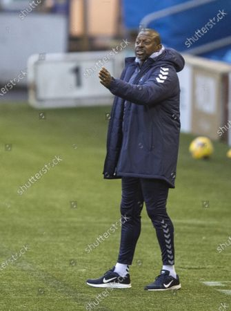 Stock Image of Kilmarnock Alex Dyer