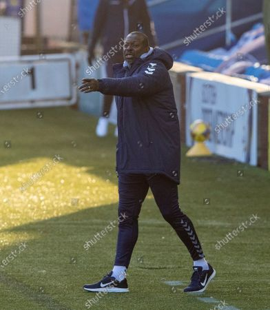 Stock Photo of Kilmarnock manager Alex Dyer