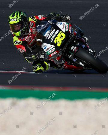 British rider Cal Crutchlow of LCR Honda Team during the third free training session of the Motorcycling Grand Prix of Portugal at Algarve International race track, Portugal, 21 November 2020. The Motorcycling Grand Prix of Portugal will take place on 22 November 2020.