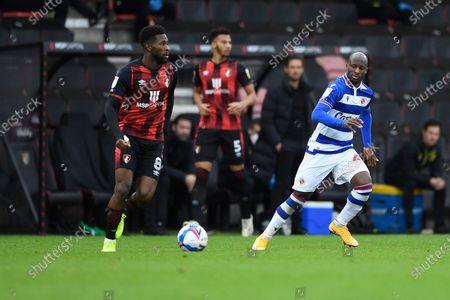 Editorial picture of AFC Bournemouth vs Reading, Sky Bet EFL Championship, Football, the Vitality Stadium, Bournemouth, Dorset, United Kingdom - 21 Nov 2020