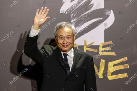 Ang Lee poses for photographs at the 57th Golden Horse Awards ceremony in Taipei, Taiwan, 21 November 2020. The film awards established in 1962 are presented to filmmakers working in Chinese-language cinema.