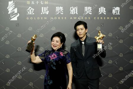 Editorial photo of 57th Golden Horse Awards, Taipei, Taiwan - 21 Nov 2020