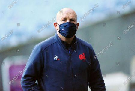 Shaun Edwards - France defence coach.