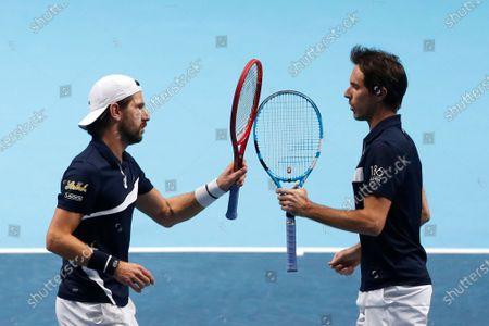Editorial photo of Tennis ATP Finals, London, United Kingdom - 21 Nov 2020