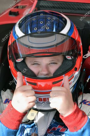 2017 F4 US Championship Rounds 1-2-3 Homestead-Miami Speedway, Homestead, FL USA Saturday 8 April 2017 #40 Jack William Miller thumbs up and ready to go World Copyright: Dan R. Boyd/LAT Images