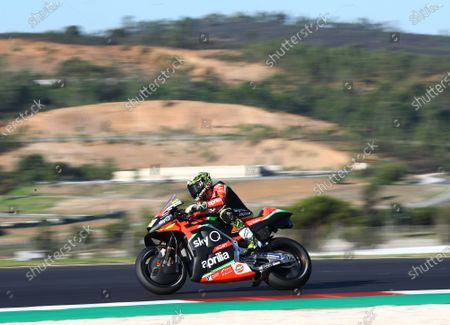 ALGARVE INTERNATIONAL CIRCUIT, PORTUGAL - NOVEMBER 21: Aleix Espargaro, Aprilia Racing Team Gresini during the Portuguese GP at Algarve International Circuit on November 21, 2020 in Algarve International Circuit, Portugal. (Photo by Gold and Goose / LAT Images)