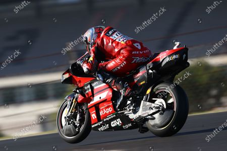 ALGARVE INTERNATIONAL CIRCUIT, PORTUGAL - NOVEMBER 21: Danilo Petrucci, Ducati Team during the Portuguese GP at Algarve International Circuit on November 21, 2020 in Algarve International Circuit, Portugal. (Photo by Gold and Goose / LAT Images)