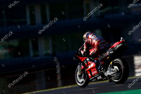 ALGARVE INTERNATIONAL CIRCUIT, PORTUGAL - NOVEMBER 21: Andrea Dovizioso, Ducati Team during the Portuguese GP at Algarve International Circuit on November 21, 2020 in Algarve International Circuit, Portugal. (Photo by Gold and Goose / LAT Images)