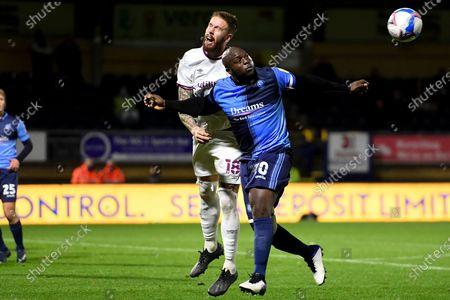 Editorial image of Wycombe Wanderers v Brentford, EFL Sky Bet Championship - 21 Nov 2020